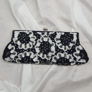 white house black market evening purse clutch